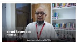 Video dukungan Novel Baswedan kepada Chuck Suryosumpeno